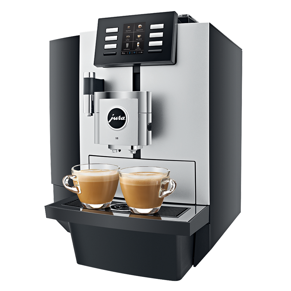 Jura X8 Platin- King Bean Coffee Service