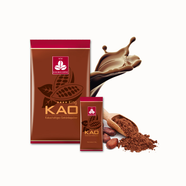 King Bean Coffee Service - KingKao - Schokoladentopping