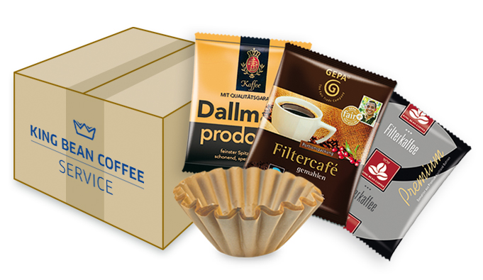King Bean Coffee Service - Kaffeefiltermaschinen für Hamburg